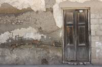 Weathered Door and Wall