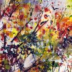 """""""Abstract Autumn Tree Tops"""" by GinetteCallaway"""