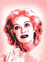 Baby Jane - Bette Davis - Pop Art
