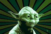 Yoda - Satr Wars - Pop Art