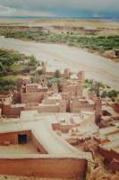 A View from Atop a Kasbah
