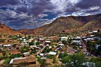Old Bisbee on a Cloudy Day