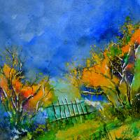 aqua 514030 Art Prints & Posters by pol ledent