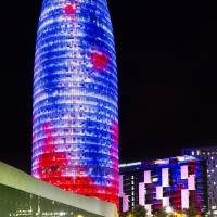 Agbar Tower (Barcelona, Catalonia) Art Prints & Posters by Marc Garrido