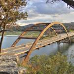 """Pennybacker-Bridge-At-Sunset"" by johnfrench"