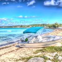 Governor's Harbour Boat Art Prints & Posters by John French