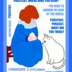 """""""Pussycat, Pussycat by Mother Goose"""" by mariancates"""