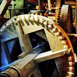 """Gears in Grist Mill"" by susansartgallery"