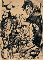 Gokou, Ichigo and Recca