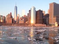 NYC on ice