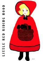Little Red Riding Hood With Title