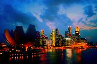 City by Night Singapore