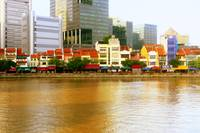 Singapore river in Color