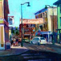 Downtown Mystic Art Prints & Posters by Blaney Harris