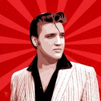 Elvis Presley - Pop Art - Digital Art