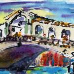 """Venice Rialto Bridge Grand Canal"" by GinetteCallaway"