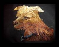 Needle Painting Dog Portrait