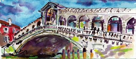Rialto Bridge Venice Grand Canal