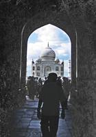 Seeing the Taj
