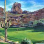 """Estancia Hole #10"" by CherryBaumbusch"