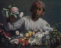 Bazille's works include the lovely Black Woman Wit
