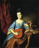 Charles Willson Peale, Julia Stockton 1776