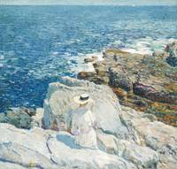 Childe Hassam - The South Ledges, Appledore