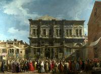 Canaletto - Venice - The Feast Day of Saint Roch