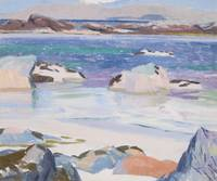 FRANCIS CAMPBELL BOILEAU CADELL , IONA LOOKING TOW