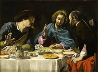 Filippo Tarchiani - The Supper at Emmaus