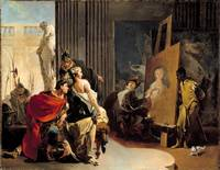Giovanni Battista Tiepolo, Apelles Painting the Po