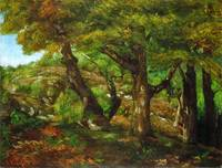 Gustave Courbet - The Fringe of the Forest ca. 185