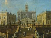Italian School, 17th Century A VIEW OF THE CAMPIDO