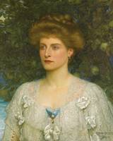 SIR FRANK DICKSEE, PORTRAIT OF SUSANNAH PEARSON 19