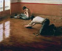 The floor scrapers (1875), Gustave Caillebotte 2