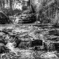 Talgarth Waterfall Art Prints & Posters by Steve Purnell
