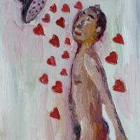 Showering with love Art Prints & Posters by John Kilduff