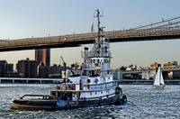 Tug Boat along the East River