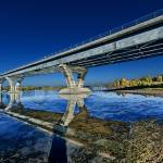 """Champlain Bridge crossing over Lake Champlain"" by New-Yorkled"