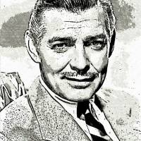 """Clark Gable"" by Blackwater Studio"