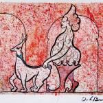 """""""Madan siry  Original watercolor 10x13 inches"""" by delabarra"""