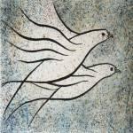 """""""Vuelo   Original watercolor 10x13 inches"""" by delabarra"""