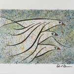 """""""Vuelo 3  Original watercolor 10x13 inches."""" by delabarra"""