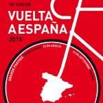 """MY VUELTA A ESPANA MINIMAL POSTER 2015-2"" by Chungkong"
