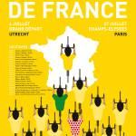 """MY TOUR DE FRANCE MINIMAL POSTER 2015"" by Chungkong"