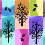 """""""Abstract Trees and Leaves"""" by peggygarr"""