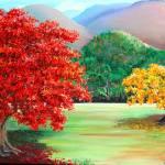 """Savannah flamboyant"" by cassiakdkb"