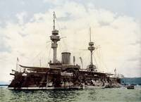 French battleship Formidable, Algiers, Algeria, ca