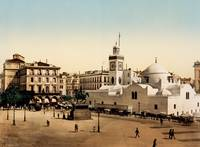 Government plaza, Algiers, Algeria, ca. 1897