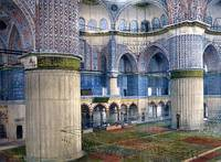 Mosque of Sultan Ahmet I, interior, Constantinople